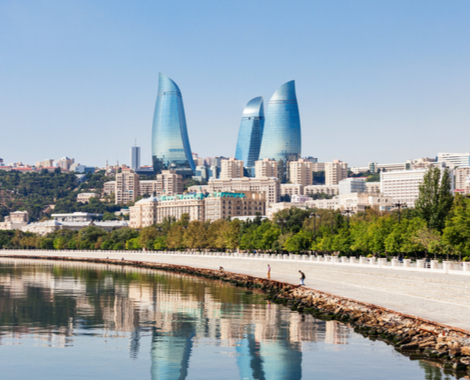 Flights to Baku with Jazeera Airways